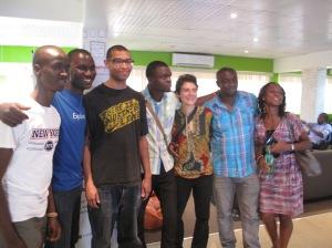 David Olaniyan, Abisoye Falabi, Joel Ogunsola, Anna Waldman Brown, Chika Okafor and Chinasa Ikeonu