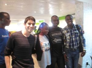 Steve Daniels, Esther Adebayo, Emeka Okafor and Emmanuel Iduma