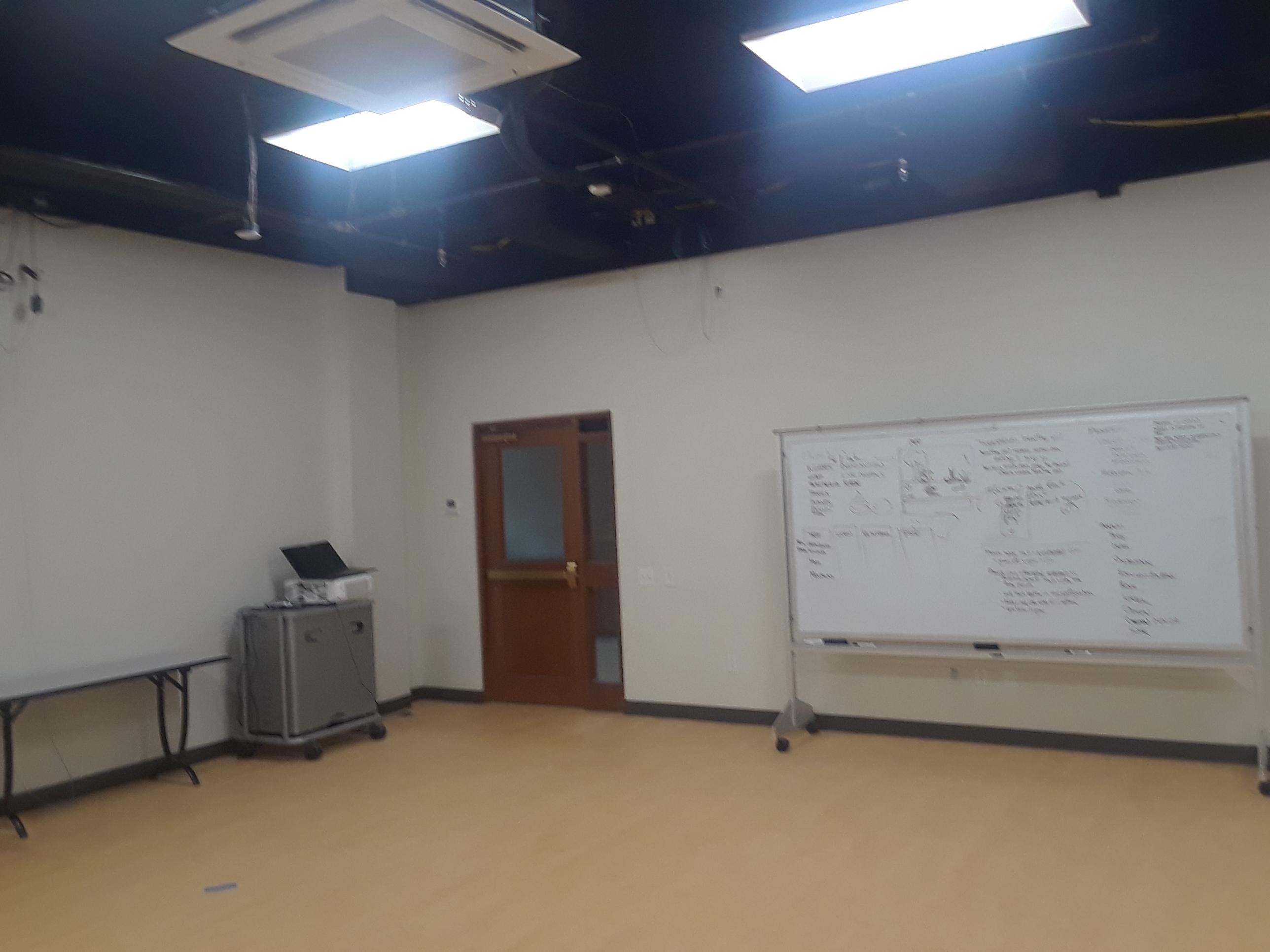 In-Progress Views of the Lab Space, Sony Building, Vanderbilt University